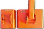 Oversized BH Stabilizer FAT PADS Kubota BX Series