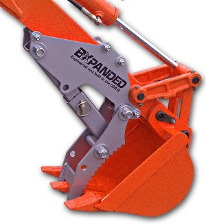 Barracuda Back Hoe Thumb  Kubota BX22, 23, 24, 25, 25D, 23S