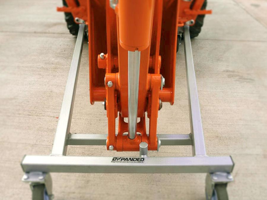 Backhoe Storage Dolly for BT603, BT602, BT601, BT600 Back Hoes