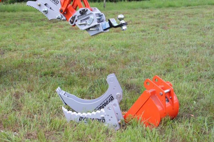 John Deere Backhoe Attachment >> Quick-On Backhoe Bucket Connector