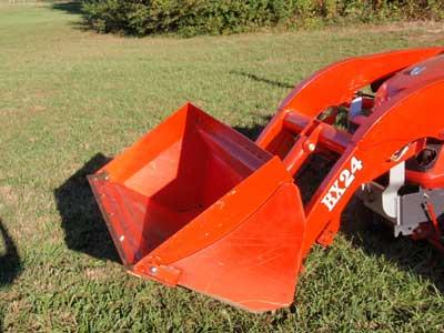 Bucket Expander for Kubota BX Series